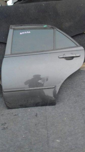 Дверь боковая Toyota Altezza GXE10 1GFE задняя левая