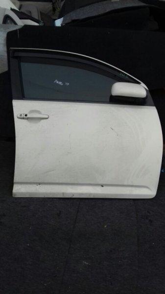 Дверь боковая Toyota Passo KGC10 1KRFE передняя правая