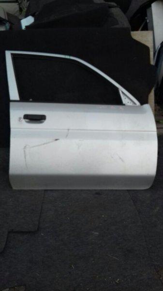 Дверь боковая Mazda Demio DW3W B3E передняя правая