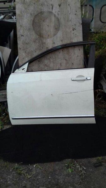 Дверь боковая Nissan Bluebird Sylphy G11 MR18DE передняя левая