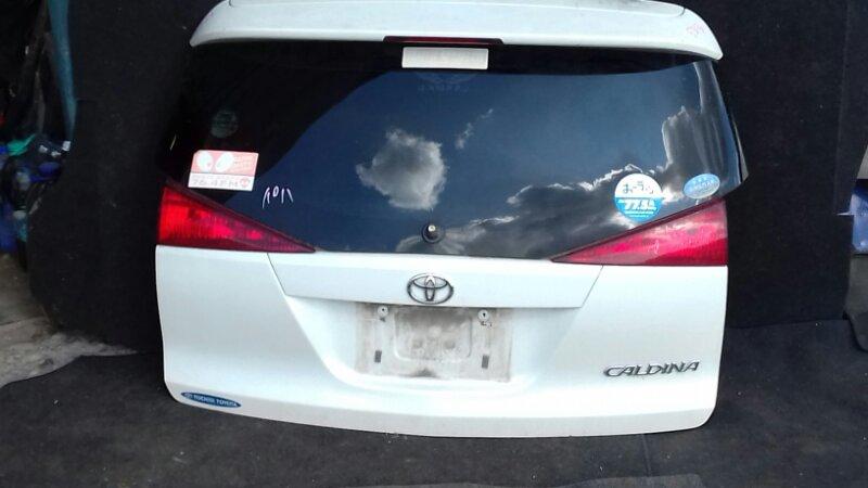 Дверь багажника Toyota Caldina ZZT241G 1AZFE задняя