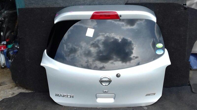 Дверь багажника Nissan March K13 HR12DE задняя