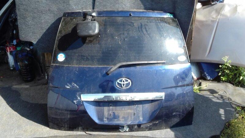 Дверь багажника Toyota Isis ANM10W задняя