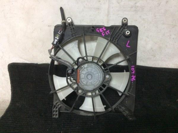 Вентилятор охлаждения радиатора Honda Fit GE6 L13A левый