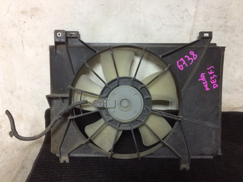 Вентилятор охлаждения радиатора Mazda Demio DE3FS ZJVE