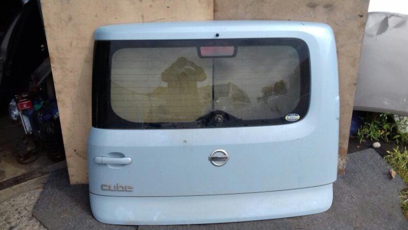 Дверь багажника Nissan Cube BZ11 CR12DE задняя
