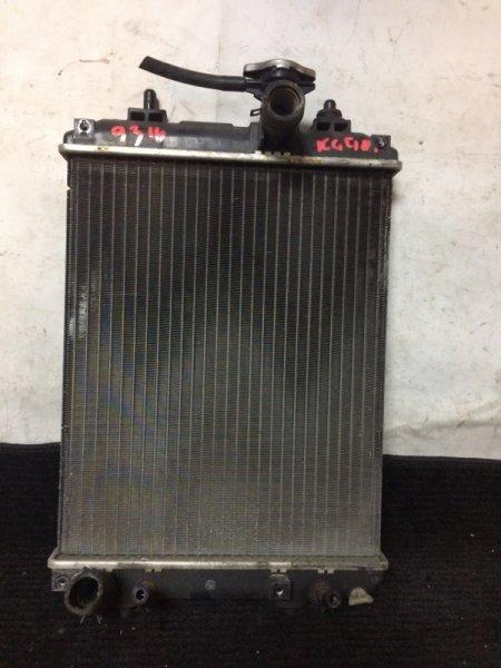 Радиатор охлаждения двигателя Toyota Passo KGC10 1KRFE