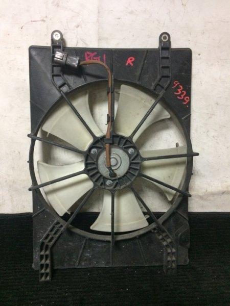 Вентилятор радиатора кондиционера Honda Stepwgn RG1 K20A правый