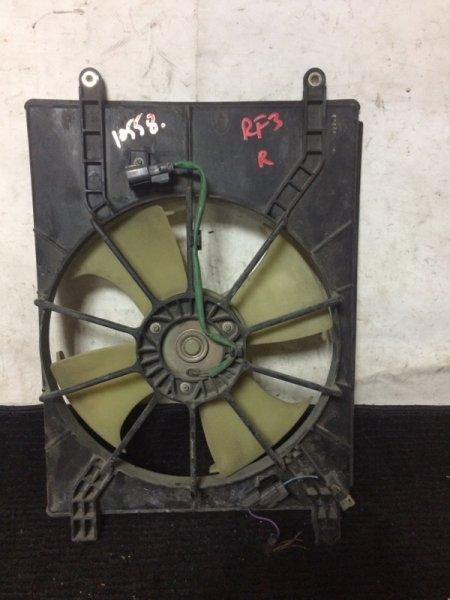 Вентилятор радиатора кондиционера Honda Stepwgn RF3 K20A правый