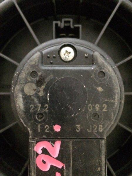 Мотор печки Mitsubishi Ek Wagon H82W 3G83 передний