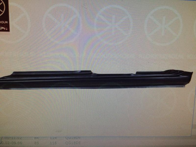Порог кузовной Nissan Bluebird Sylphy FG10 QG18DE правый