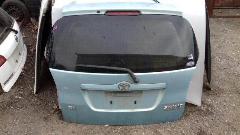 Дверь багажника Toyota Corolla Spacio NZE121 4AFE задняя