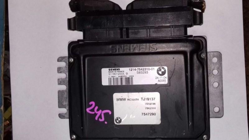 Блок управления двс Mini Cooper S R50 W10B16A