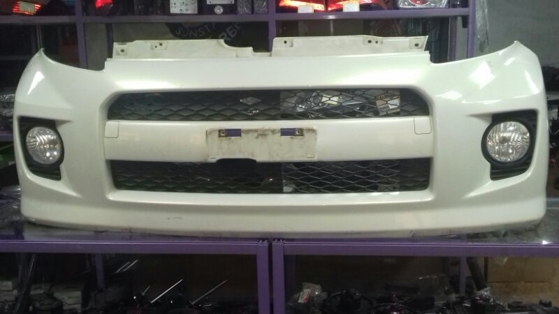 Бампер Toyota Passo KGC10 1KRFE передний