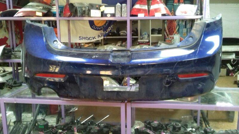 Бампер Mazda Axela BL5FW задний