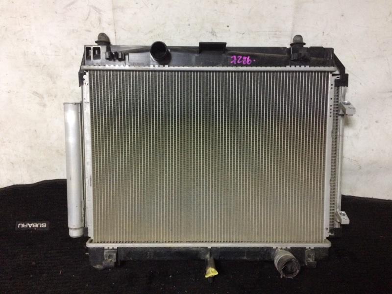 Радиатор охлаждения двигателя Toyota Vitz NCP131 1NZFE