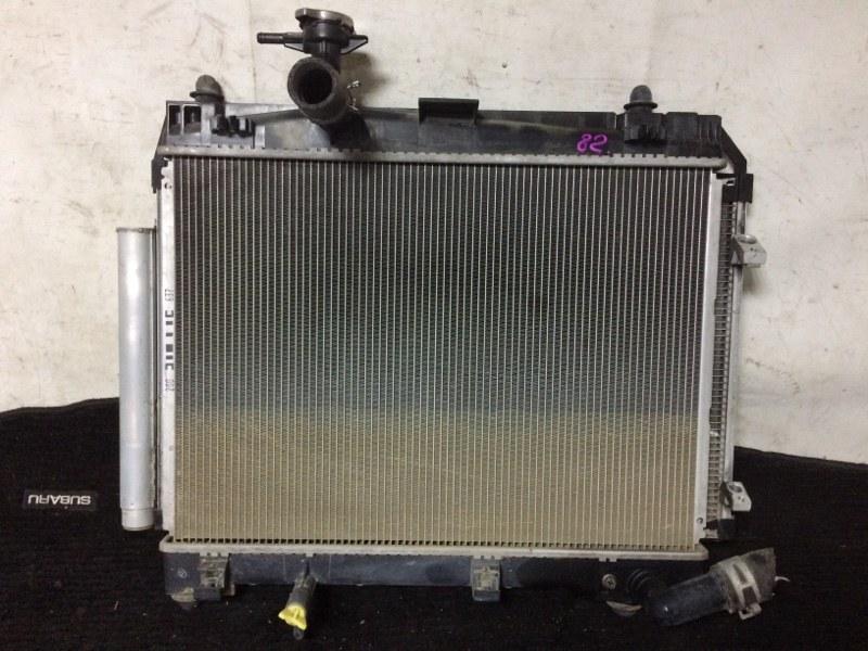 Радиатор охлаждения двигателя Toyota Ractis NSP120 1NRFE