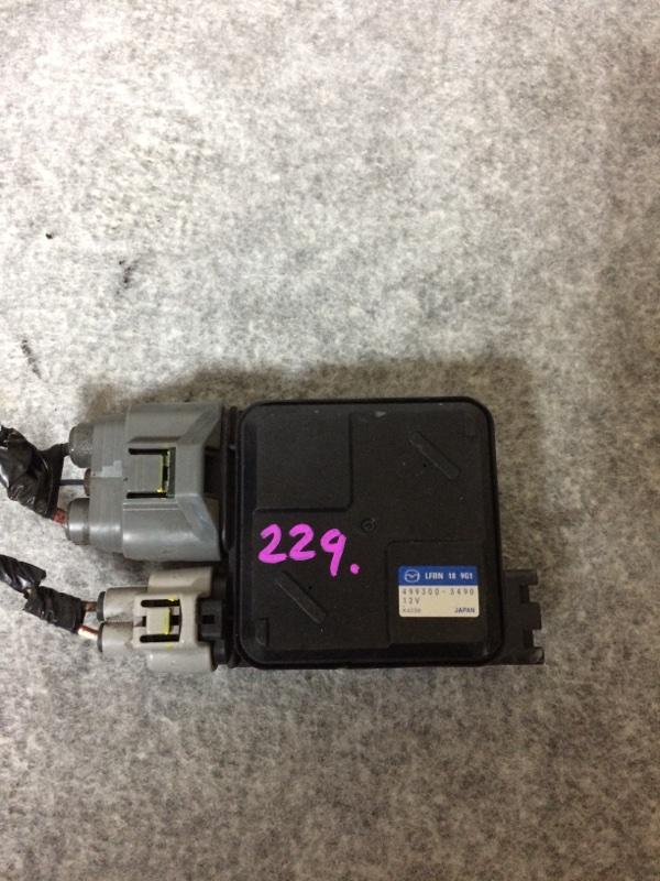 Блок управления вентилятором охлаждения Mazda Axela BLEFW LFVDS