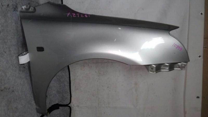 Крыло Toyota Avensis AZT251 1AZFE переднее правое