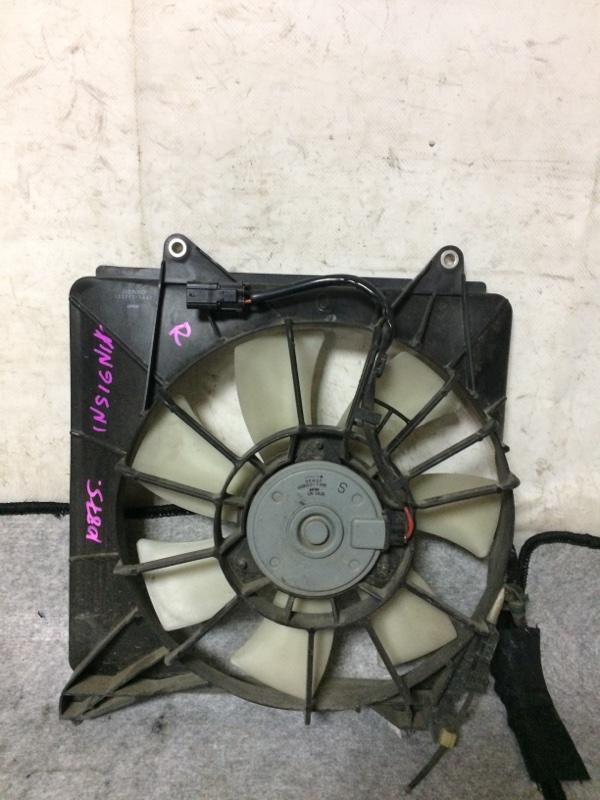 Вентилятор радиатора кондиционера Honda Insight ZE2 LDA правый