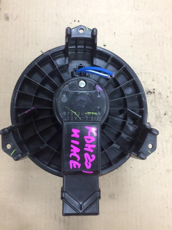 Мотор печки Toyota Hiace KDH201 передний