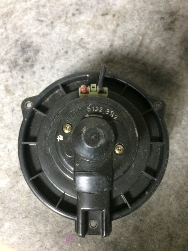 Мотор печки Toyota Celsior UCF20 передний
