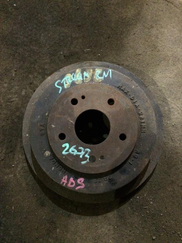 Тормозной барабан Honda Stream RN1 D17A задний