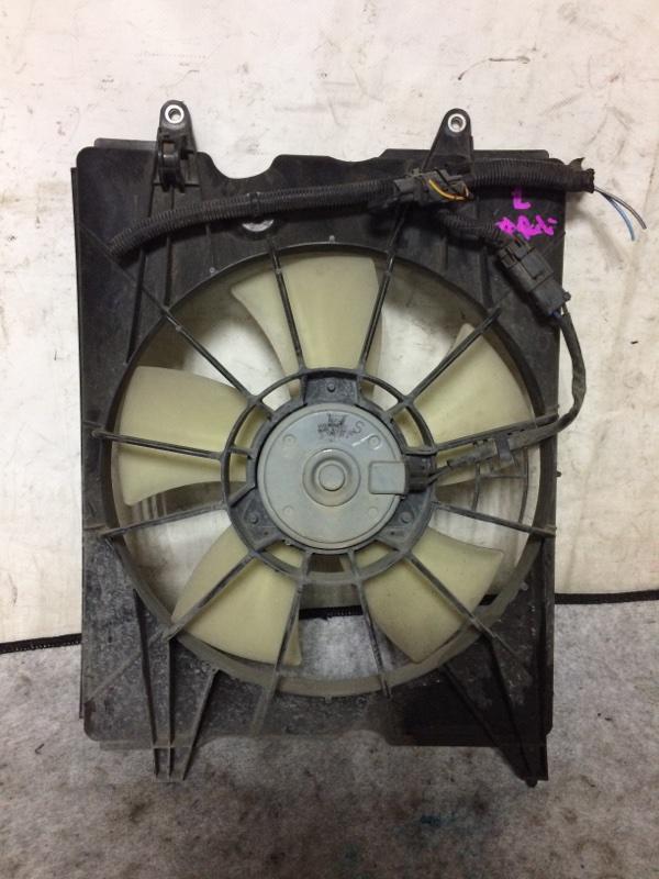 Вентилятор охлаждения радиатора Honda Elysion RR1 K24A левый