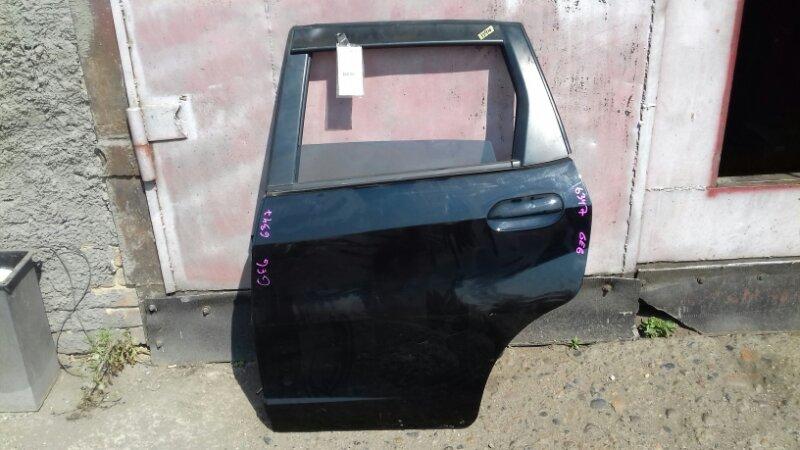 Дверь боковая Honda Fit GE6 L13A задняя левая