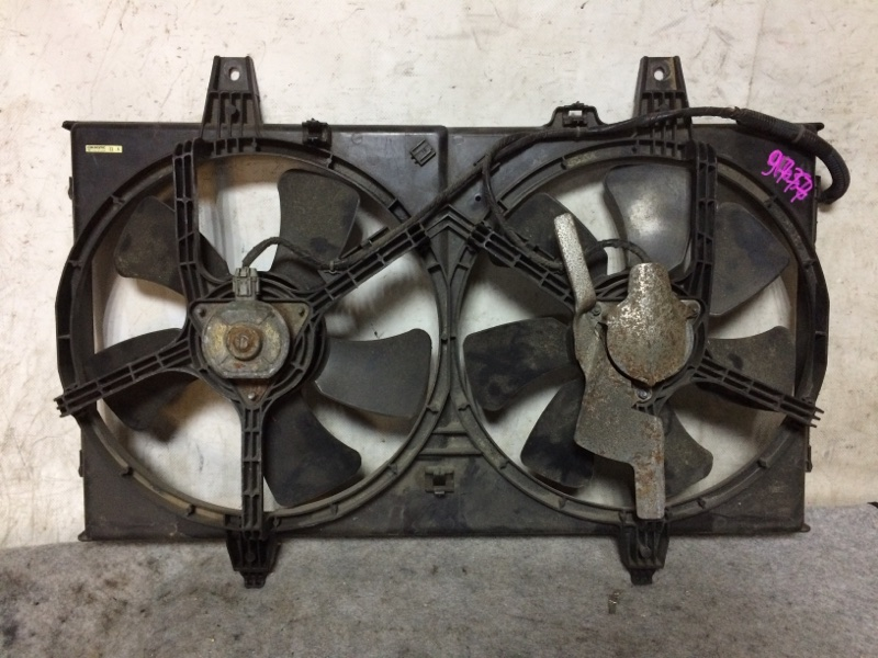 Вентилятор охлаждения радиатора Nissan Avenir PW11 SR20DE