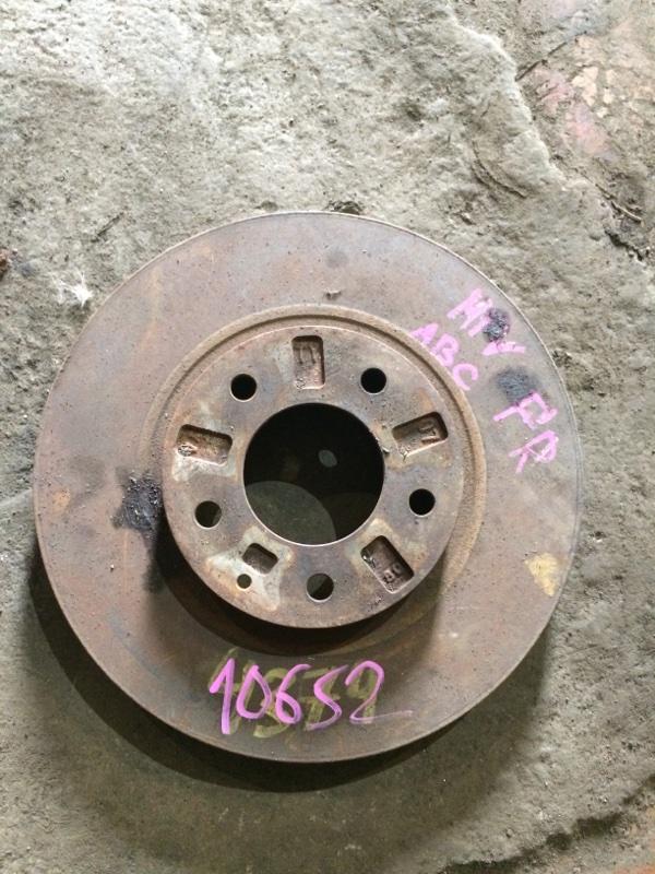 Тормозной диск Mazda Mpv LW3W передний