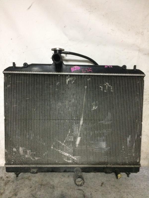 Радиатор охлаждения двигателя Nissan Serena C25 MR20DE