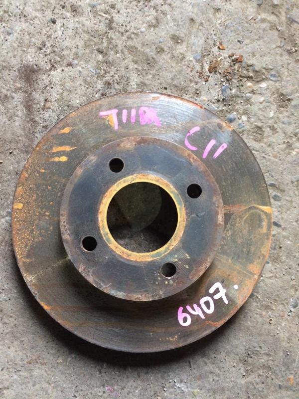 Тормозной диск Nissan Ad VAY12 CR12DE передний