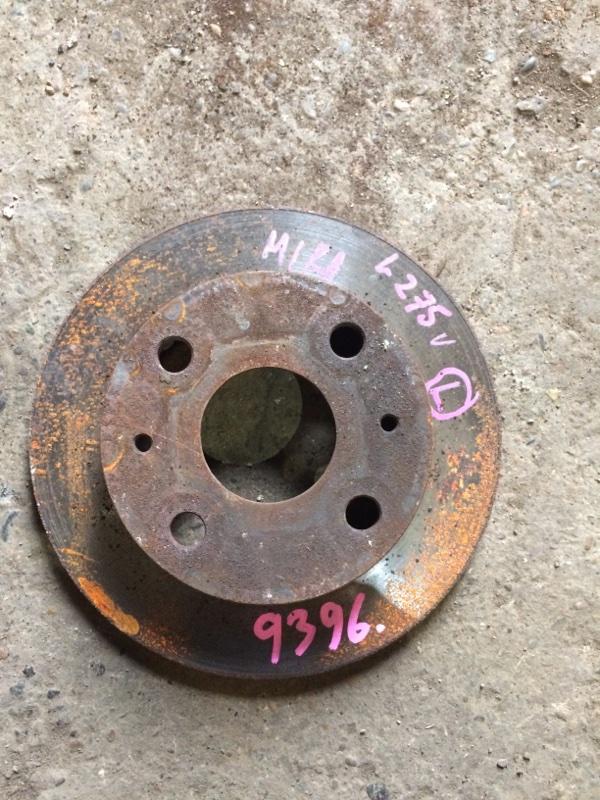 Тормозной диск Daihatsu Mira L275S KFVE передний