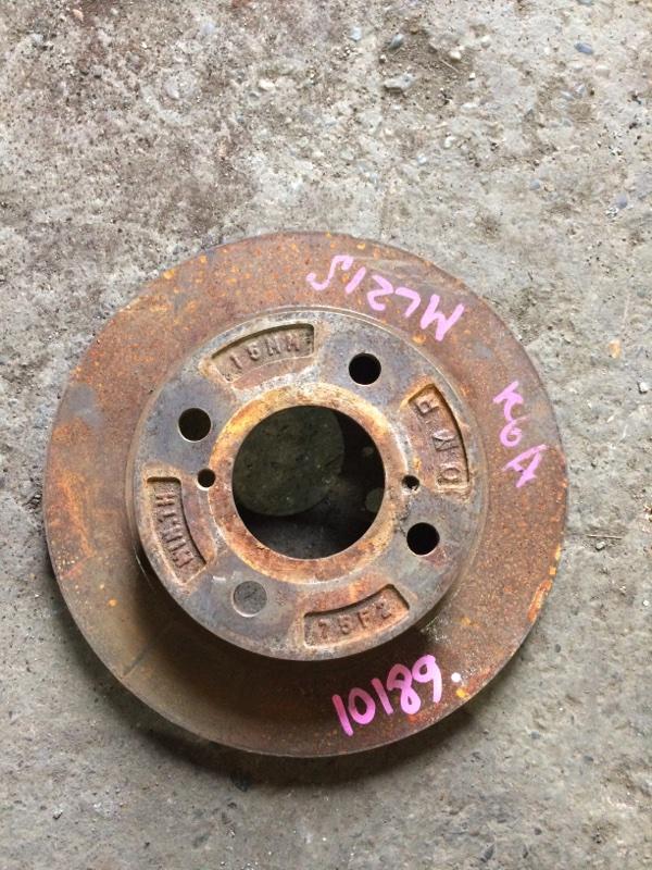 Тормозной диск Suzuki Alto HA24S K6A передний