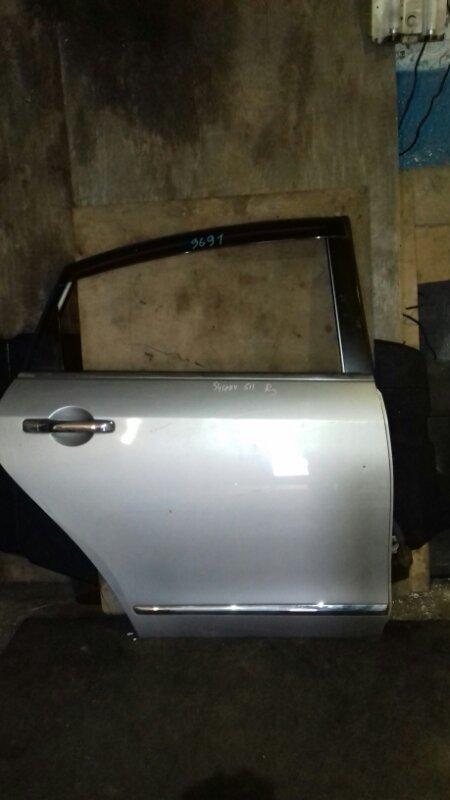 Дверь боковая Nissan Bluebird Sylphy G11 MR18DE задняя правая