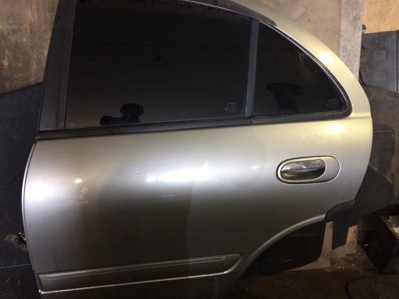 Дверь боковая Nissan Bluebird Sylphy FG10 QG18DE задняя левая