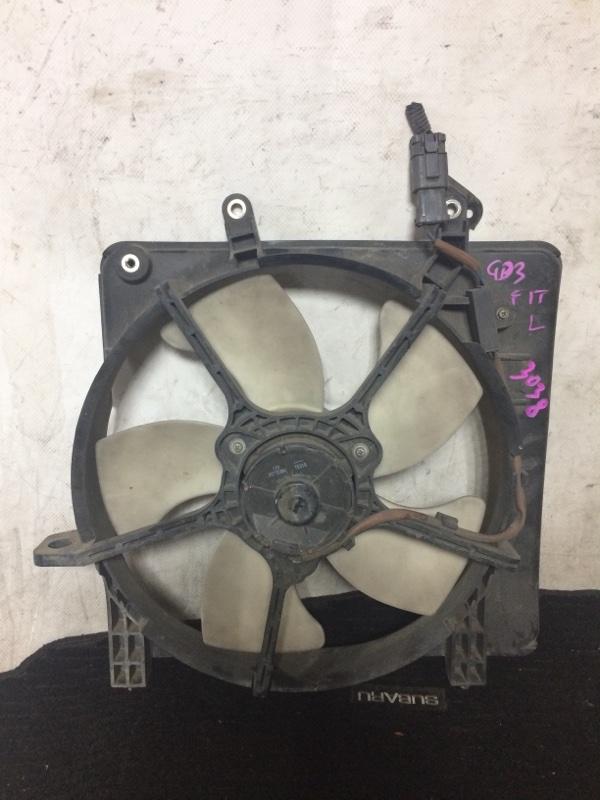 Вентилятор охлаждения радиатора Honda Fit GD1 L13A левый