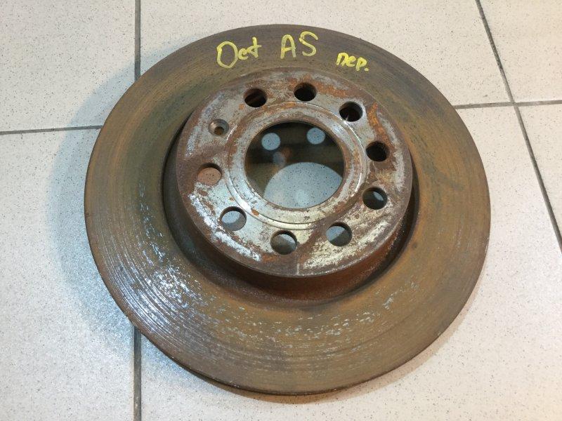 Диск тормозной передний Skoda Octavia 2004-2013 A5 1K0615301T Б/У