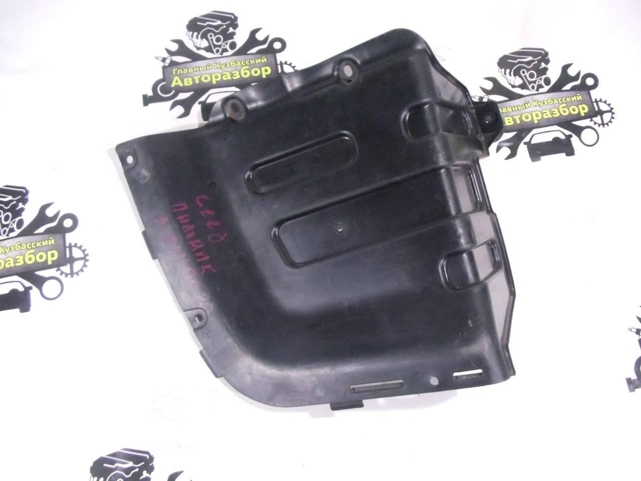 Защита бампера Kia Ceed ED G4GC 2007 задняя левая