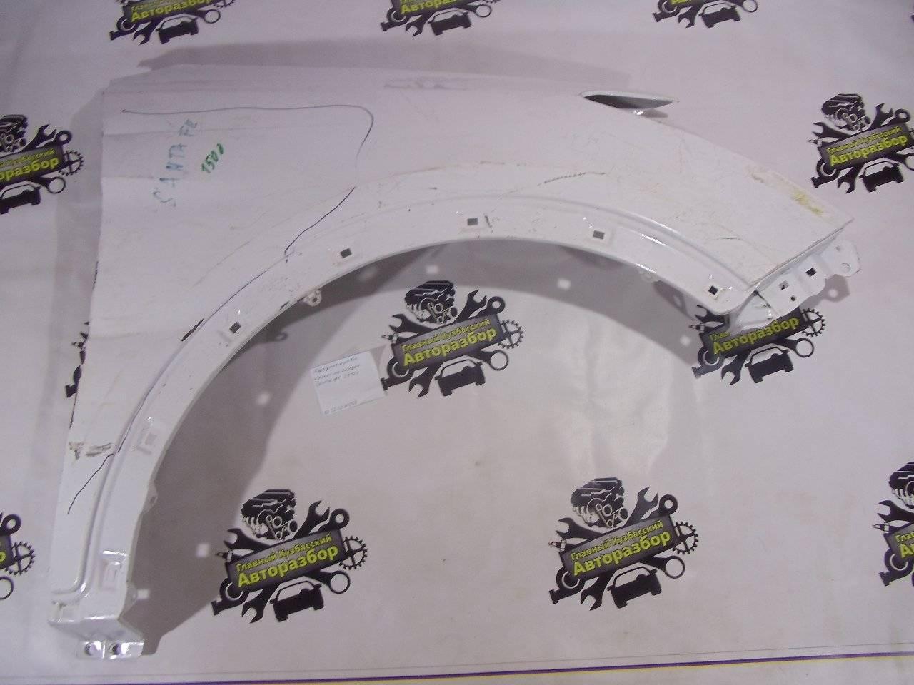 Крыло Hyundai Santa Fe DM D4HB 2012 переднее правое