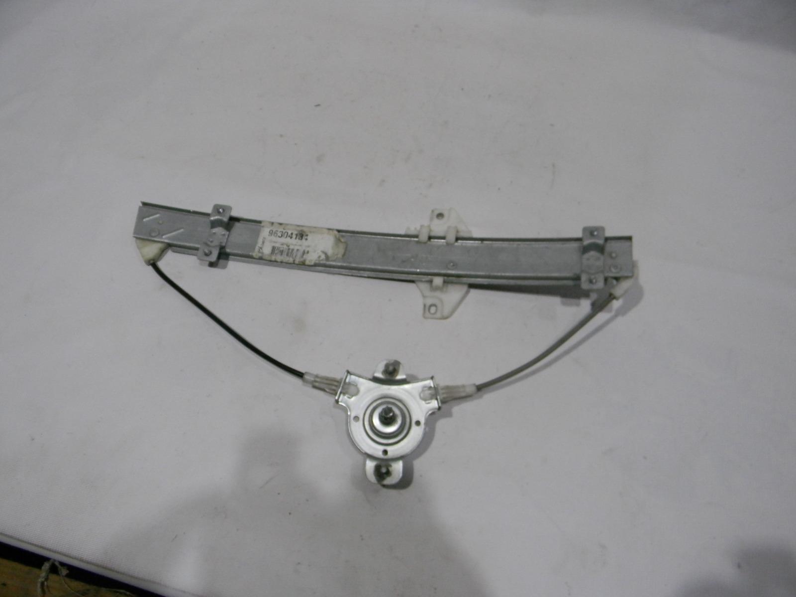 Стеклоподъемник Chevrolet Lanos T100 1997 задний правый
