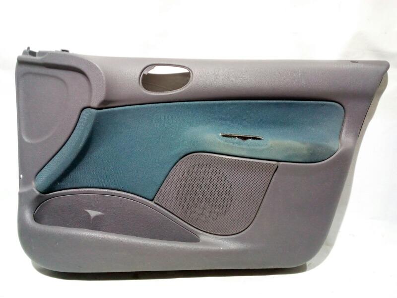 Обшивка двери Peugeot 206 2A TU1JP 2005 передняя правая