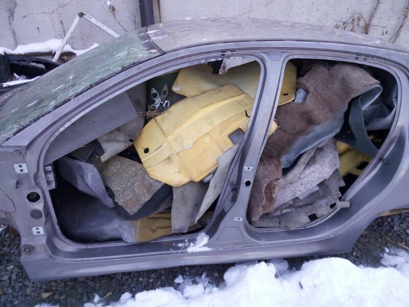 Порог кузовной Peugeot 206 2A/C TU1JP 2005 левый