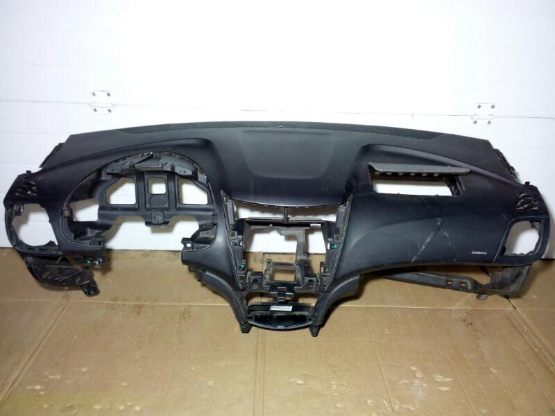 Панель приборов (торпеда) Hyundai Solaris RB G4FA 2011>
