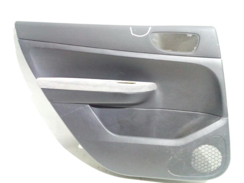 Обшивка двери Peugeot 307 3C EW10 2003 задняя левая