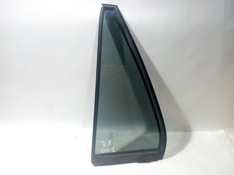 Форточка двери Mitsubishi Lancer Cedia CS5W 4G93 2002 задняя левая