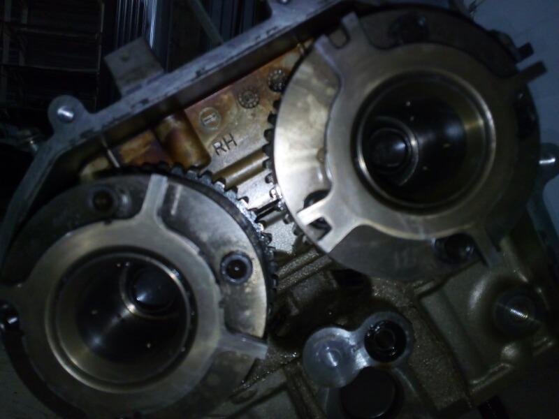 Головка блока цилиндров Infiniti Fx50 S51 VK50VE 2008 правая