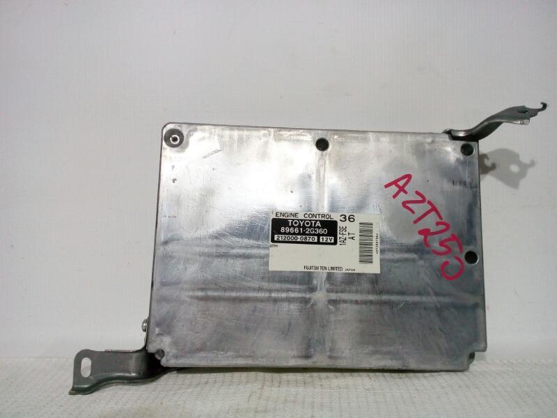Блок управления двс Toyota Avensis AZT250 1AZFSE 2004