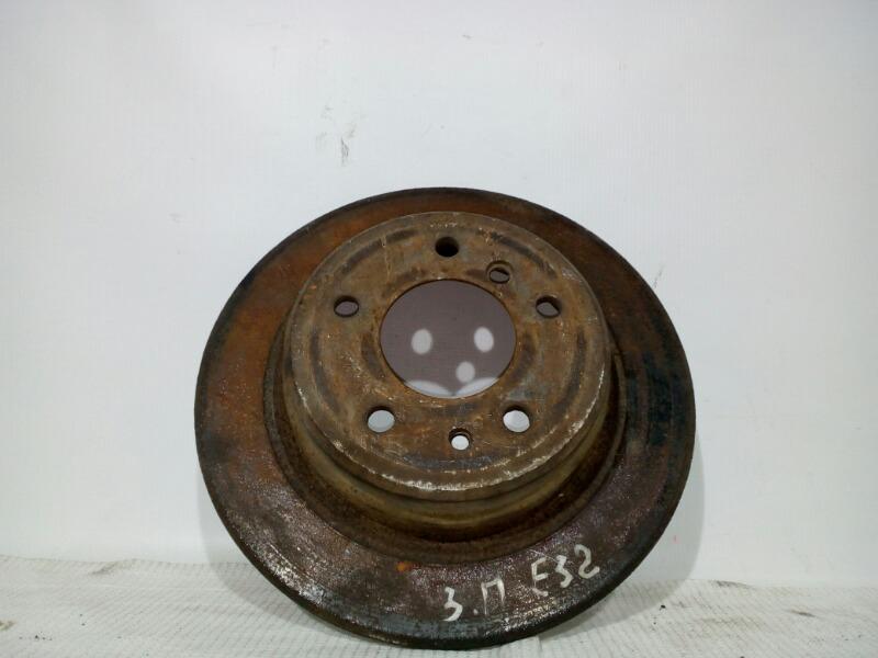 Диск тормозной Bmw 7-Series E32 M20B25 1986 задний правый